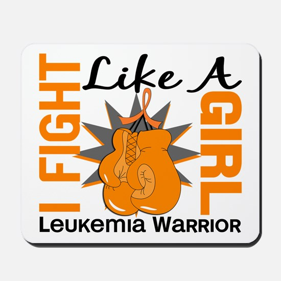 Licensed Fight Like a Girl 8.2 Leukemia Mousepad