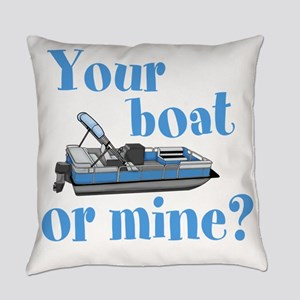 Your Boat or Mine? Everyday Pillow