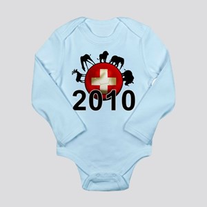 Switzerland World Cup 2010 Long Sleeve Infant Body