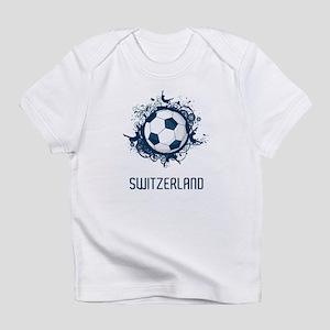 Switzerland Football Infant T-Shirt