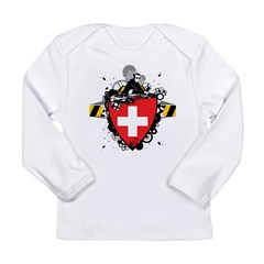 Hip Switzerland Long Sleeve Infant T-Shirt