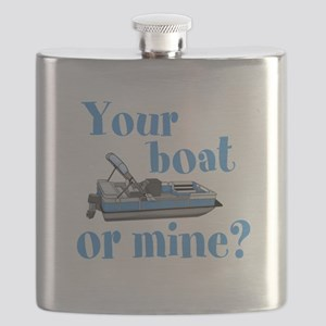 Your Boat or Mine? Flask