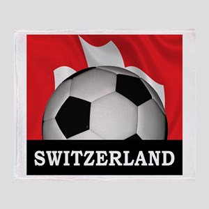 Switzerland Throw Blanket