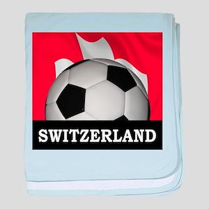 Switzerland baby blanket