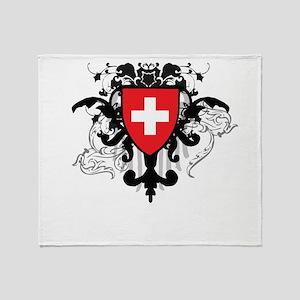 Stylish Switzerland Throw Blanket