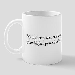 Higher Power Ass Kickin' Mug