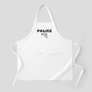 Police Wife BBQ Apron