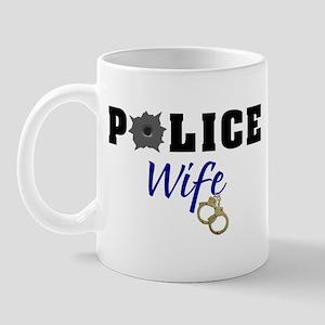 Police Wife Mug