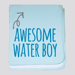 Awesome water boy baby blanket