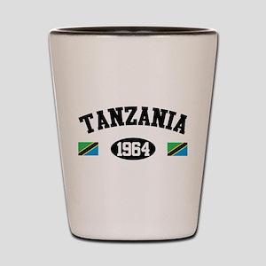 Tanzania 1964 Shot Glass