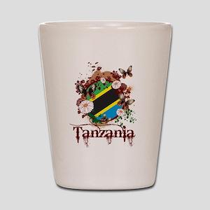 Butterfly Tanzania Shot Glass