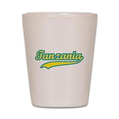 Retro Tanzania Shot Glass