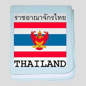 Thailand baby blanket