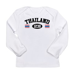 Thailand 1238 Long Sleeve Infant T-Shirt