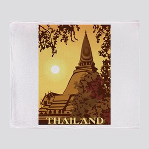 Thailand Throw Blanket