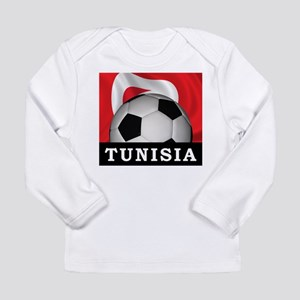 Tunisia Football Long Sleeve Infant T-Shirt