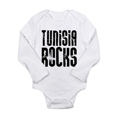 Tunisia Rocks Long Sleeve Infant Bodysuit