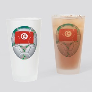 Tunisia Soccer Pint Glass