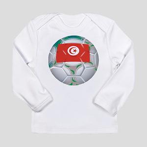 Tunisia Soccer Long Sleeve Infant T-Shirt