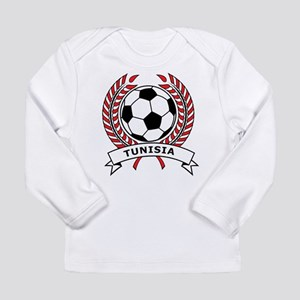 Soccer Tunisia Long Sleeve Infant T-Shirt