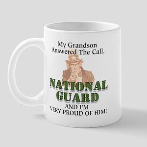 National Guard Grandson Mug