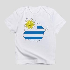 Map Of Uruguay Infant T-Shirt