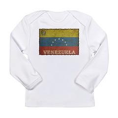 Vintage Venezuela Long Sleeve Infant T-Shirt