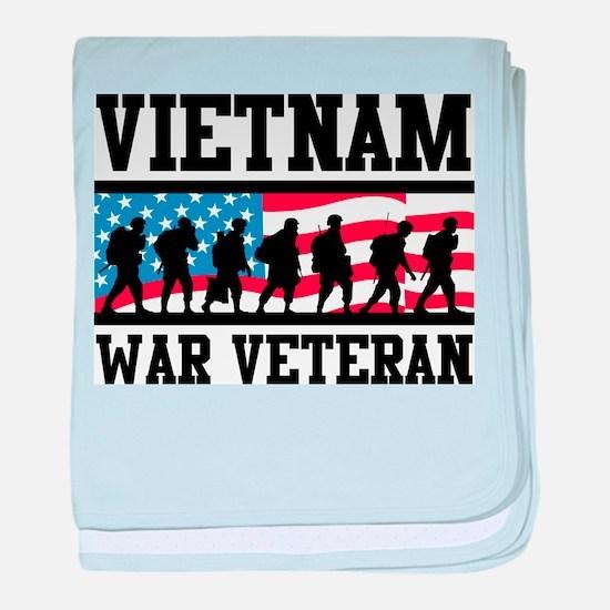 Vietnam War Veteran baby blanket
