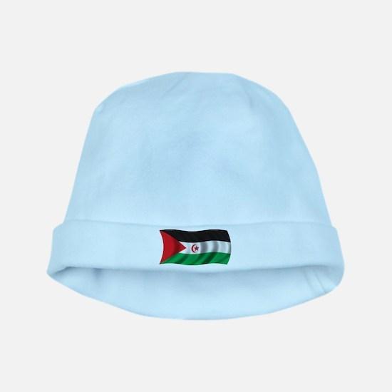 Wavy Western Sahara baby hat