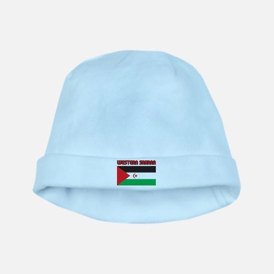 Western Sahara Flag baby hat
