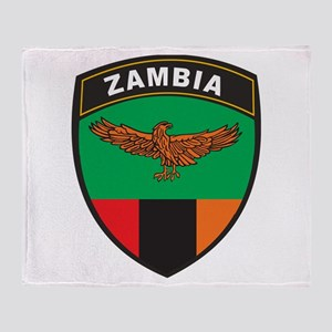 Zambia Throw Blanket