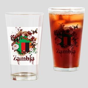 Butterfly Zambia Pint Glass