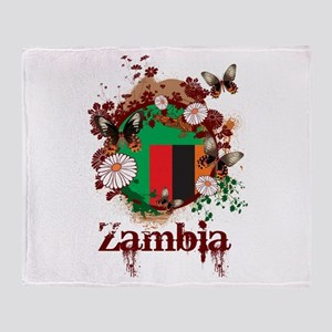 Butterfly Zambia Throw Blanket