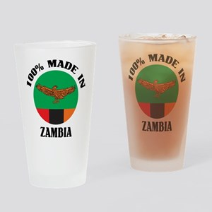 Made In Zambia Pint Glass