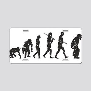 Evolution Umpire Aluminum License Plate