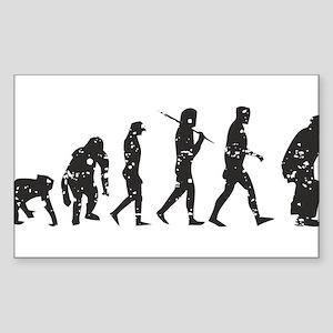 Evolution Umpire Sticker (Rectangle)