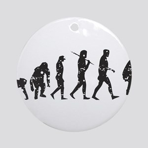 Evolution Umpire Ornament (Round)