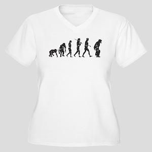 34e5ca1260685 Evolution Umpire Women s Plus Size V-Neck T-Shirt