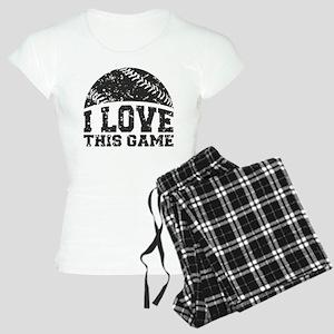 I Love This Game Women's Light Pajamas
