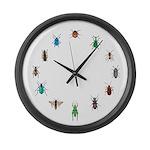 Bug circle Large Wall Clock