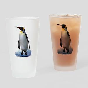 Penguin Pint Glass