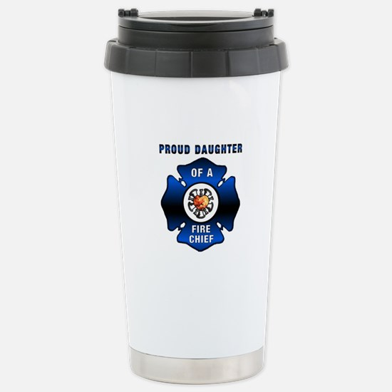 Fire Chiefs Daughter Stainless Steel Travel Mug
