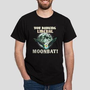 Barking Liberal Moonbat Black Tee