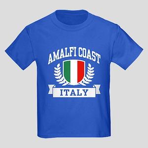 Amalfi Coast Italy Kids Dark T-Shirt