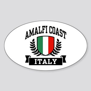 Amalfi Coast Italy Sticker (Oval)