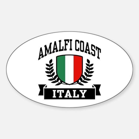 Amalfi Coast Italy Sticker (Oval)