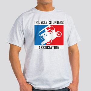 Tricycle Stunters Association Light T-Shirt