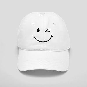 Smiley wink Cap