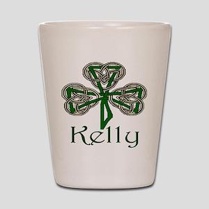 Kelly Shamrock Shot Glass