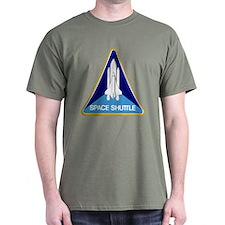Original Space Shuttle Insignia Dark T-Shirt